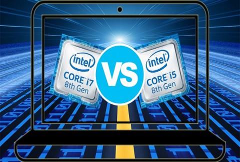 تفاوت پردازنده های اینتل core i5 و core i7