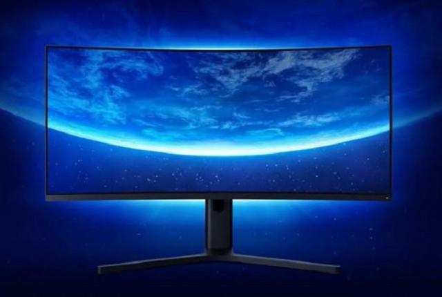 شیائومی از نمایشگر گیمینگ 34 اینچی منحنی خود رونمایی کرد