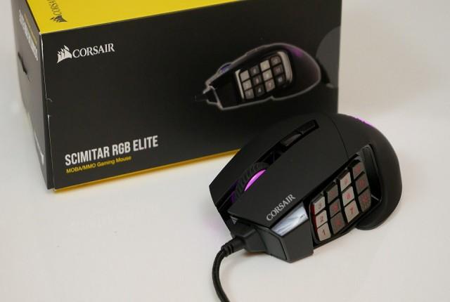 بررسی موس گیمینگ Corsair Scimitar RGB Elite: یک اسلحه تمام عیار!