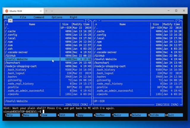 مایکروسافت پشتیبانی از موس را به ترمینال ویندوز اضافه میکند