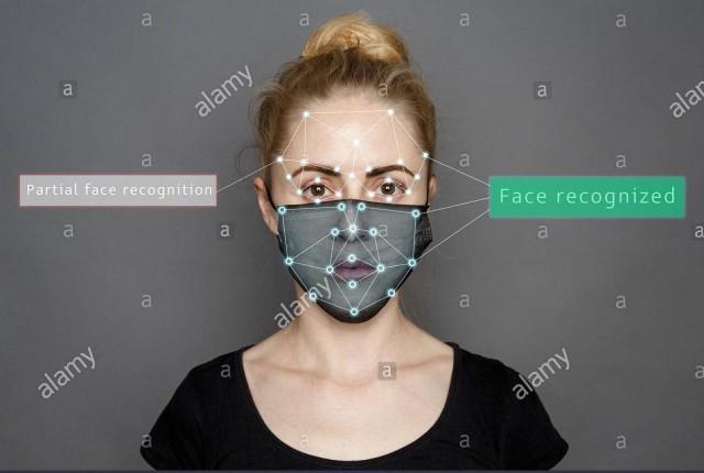 ایالات متحده درحال کار بر روی تشخیص چهره افراد با ماسک است