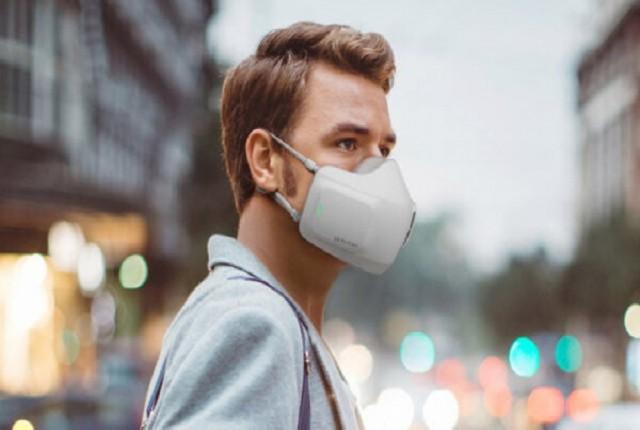 ماسک هوشمند جدید ال جی، هوا را تصفیه میکند