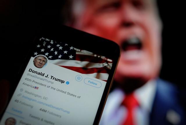 توئیتر اطلاعات غلط ترامپ درباره کرونا را حذف میکند