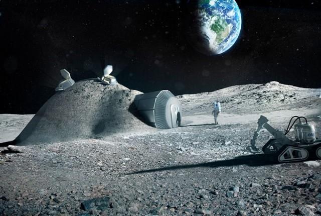 ناسا قصد استخراج طلا از ماه را دارد