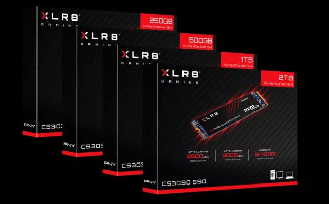 پایین آوردن عمر حافظه SSD مدل XLR8 توسط شرکت PNY