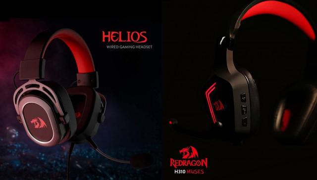 مقایسه هدست ردراگون هدست گیمینگ REDRAGON مدل HELIOS H710 با هدست گیمینگ REDRAGON مدل MUSES H310