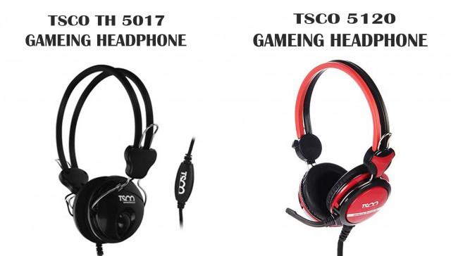 مقایسه هدفون گمینگ تسکو مدل TH 5120 با هدفن گیمینگ تسکو مدل TH5017