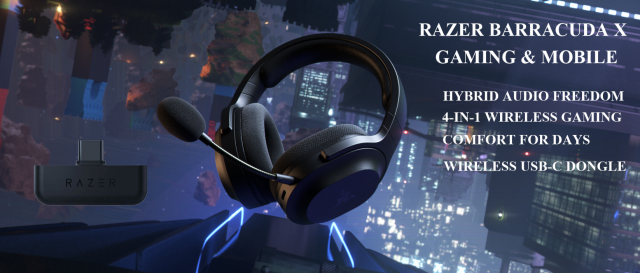 RAZER BARRACUDA X GAMING & MOBILEهدست همه کاره و سبک برای استفاده بر روی تمام پلتفرمها